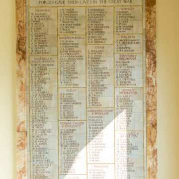 bakewell cottage care home roll of honour